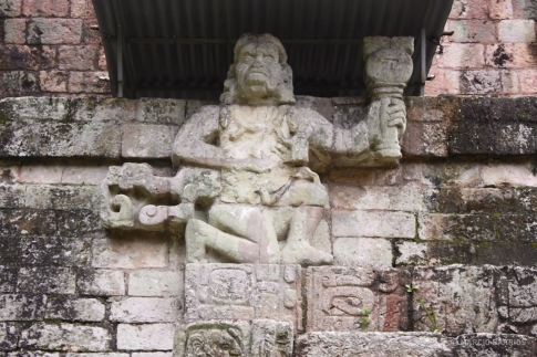Honduras monkey god
