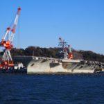 YOKOSUKA軍港めぐり。ロナルド・レーガンがきてた!