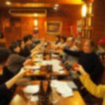 読書会の懇親会はギリシャ料理でジャニーズ談義
