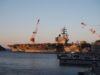横須賀米軍基地見学と基地側からもロナルド・レーガン